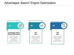 Advantages Search Engine Optimization Ppt Powerpoint Presentation Slides Cpb