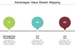 Advantages Value Stream Mapping Ppt Powerpoint Presentation Outline Background Cpb