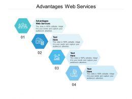 Advantages Web Services Ppt Powerpoint Presentation Professional Demonstration Cpb