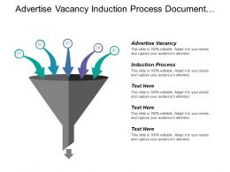 Advertise Vacancy Induction Process Document Management App Server