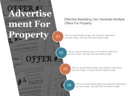 Advertisement For Property Sample Of Ppt