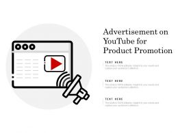 Advertisement On Youtube For Product Promotion