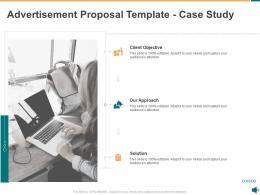 Advertisement Proposal Template Case Study Ppt Powerpoint Presentation Design Ideas