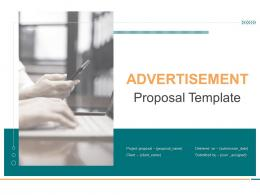 Advertisement Proposal Template Powerpoint Presentation Slides