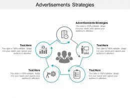 Advertisements Strategies Ppt Powerpoint Presentation Slides Show Cpb