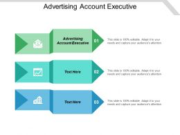 Advertising Account Executive Ppt Powerpoint Presentation Gallery Slide Portrait Cpb