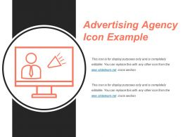 Advertising Agency Icon Example Powerpoint Graphics