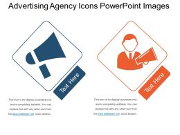 Advertising Agency Icons Powerpoint Images