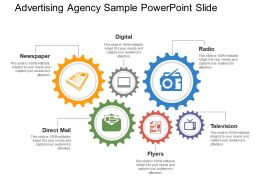 Advertising Agency Sample PowerPoint Slide