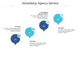 Advertising Agency Service Ppt Powerpoint Presentation Show Picture Cpb