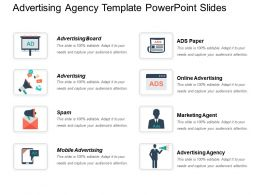 Advertising Agency Template PowerPoint Slides