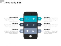 Advertising B2B Ppt Powerpoint Presentation Gallery Influencers Cpb