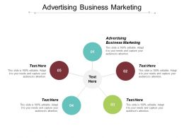 Advertising Business Marketing Ppt Powerpoint Presentation Diagram Ppt Cpb