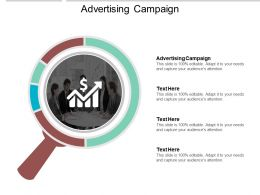 Advertising Campaign Ppt Powerpoint Presentation File Formats Cpb