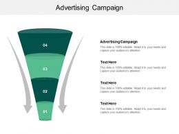 Advertising Campaign Ppt Powerpoint Presentation Pictures Show Cpb