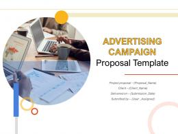 Advertising Campaign Proposal Template Powerpoint Presentation Slides