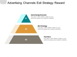 Advertising Channels Exit Strategy Reward Marketing Reward Marketing Cpb