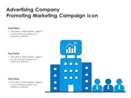 Advertising Company Promoting Marketing Campaign Icon
