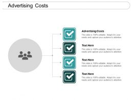 Advertising Costs Ppt Powerpoint Presentation Pictures Slide Portrait Cpb