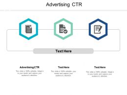 Advertising CTR Ppt Powerpoint Presentation Pictures Cpb