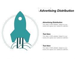 Advertising Distribution Ppt Powerpoint Presentation Portfolio Model Cpb