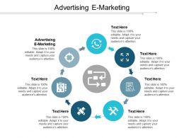 Advertising E Marketing Ppt Powerpoint Presentation File Graphics Cpb
