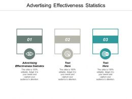 Advertising Effectiveness Statistics Ppt Powerpoint Presentation Icon Slide Portrait Cpb