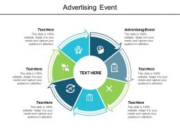 Advertising Event Ppt Powerpoint Presentation Infographic Template Skills Cpb