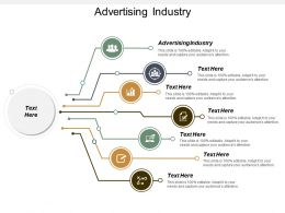 Advertising Industry Ppt Powerpoint Presentation Ideas Example Topics Cpb