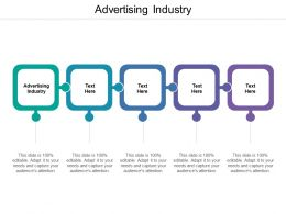 Advertising Industry Ppt Powerpoint Presentation Pictures Tips Cpb