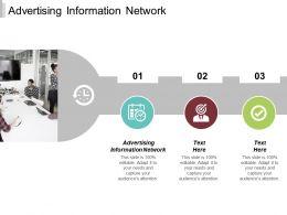 Advertising Information Network Ppt Powerpoint Presentation Ideas Slides Cpb