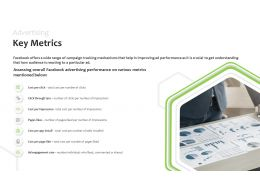 Advertising Key Metrics Cost Per Click Ppt Powerpoint Presentation Slides Show