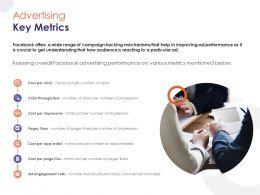 Advertising Key Metrics Ppt Powerpoint Presentation Guide
