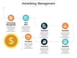 Advertising Management Ppt Powerpoint Presentation Diagram Images Cpb