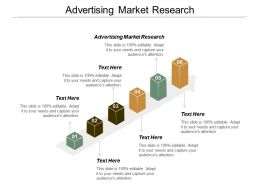 Advertising Market Research Ppt Powerpoint Presentation Pictures Master Slide Cpb