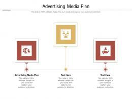 Advertising Media Plan Ppt Powerpoint Presentation Styles Model Cpb