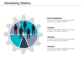Advertising Metrics Ppt Powerpoint Presentation Gallery Picture Cpb