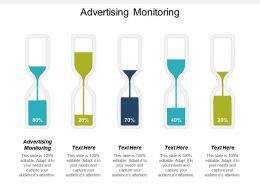 Advertising Monitoring Ppt Powerpoint Presentation Ideas File Formats Cpb