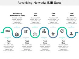 Advertising Networks B2B Sales Ppt Powerpoint Presentation Slides Template Cpb