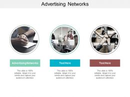 Advertising Networks Ppt Powerpoint Presentation Diagram Ppt Cpb
