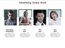 Advertising Online Work Ppt Powerpoint Presentation File Files Cpb