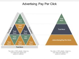Advertising Pay Per Click Ppt Powerpoint Presentation Infographics Design Ideas Cpb