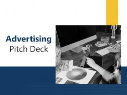 Advertising Pitch Deck PPT Template