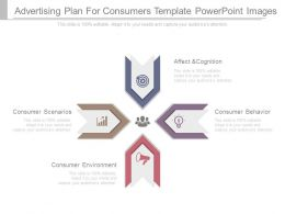 Advertising Plan For Consumers Template Powerpoint Images