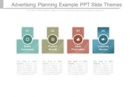 Advertising Planning Example Ppt Slide Themes