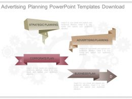 Advertising Planning Powerpoint Templates Download