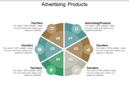Advertising Products Ppt Powerpoint Presentation Summary Sample Cpb