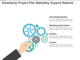 Advertising Project Plan Marketing Support Network Paycheck Taxes Cpb