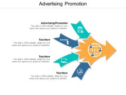 Advertising Promotion Ppt Powerpoint Presentation File Graphics Cpb