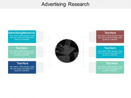 Advertising Research Ppt Powerpoint Presentation Diagram Templates Cpb